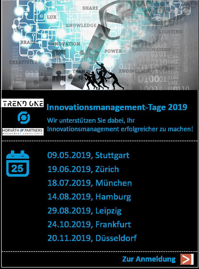 Innovationsmanagement-Tage 2019