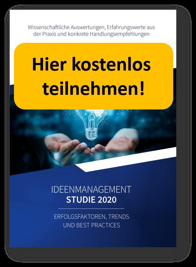 Teilnahme Ideenmanagement-Studie 2020