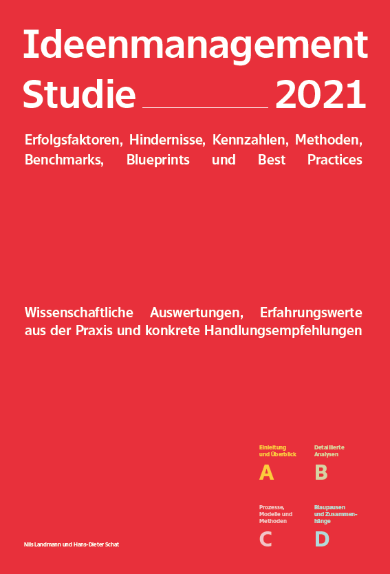 Ideenmanagement Studie 2021 Buch Cover